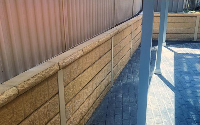 Marine Retaining wall