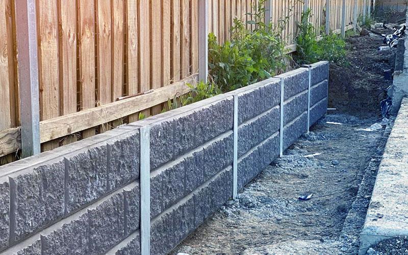 Sandstone Retainer Wall